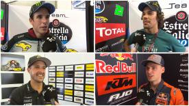 The Moto2™ field give their thoughts after the post-race test in Spielberg