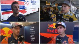 The riders comment on their thoughts after the post-race test at the Red Bull Ring