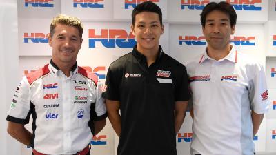 Nakagami ab 2018 mit LCR Honda