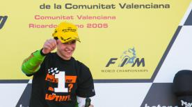 The Swiss rider wants to repeat the sensations after he won the 125cc title in 2005