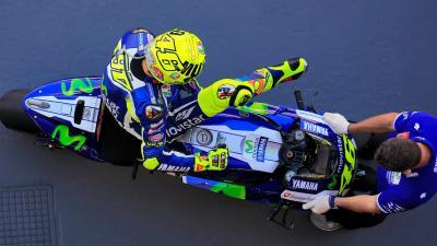 Rossi fête son 300e départ en catégorie reine à Silverstone
