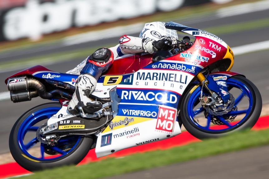 Romano Fenati, Marinelli Rivacold Snipers, Octo British Grand Prix