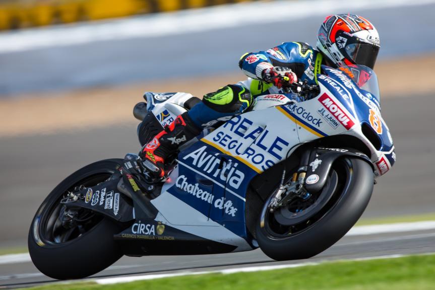 Hector Barbera, Reale Avintia Racing, Octo British Grand Prix