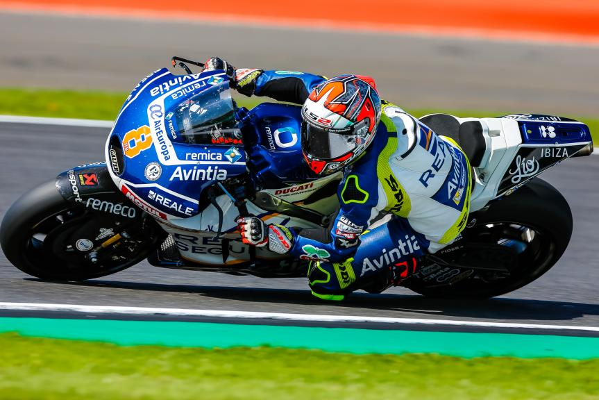 Hector Barbera, Reale Avintia Racing, Octo British Grand Prix