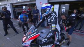 The opening Free Practice session of the Moto2™ World Championship at the #BritishGP.