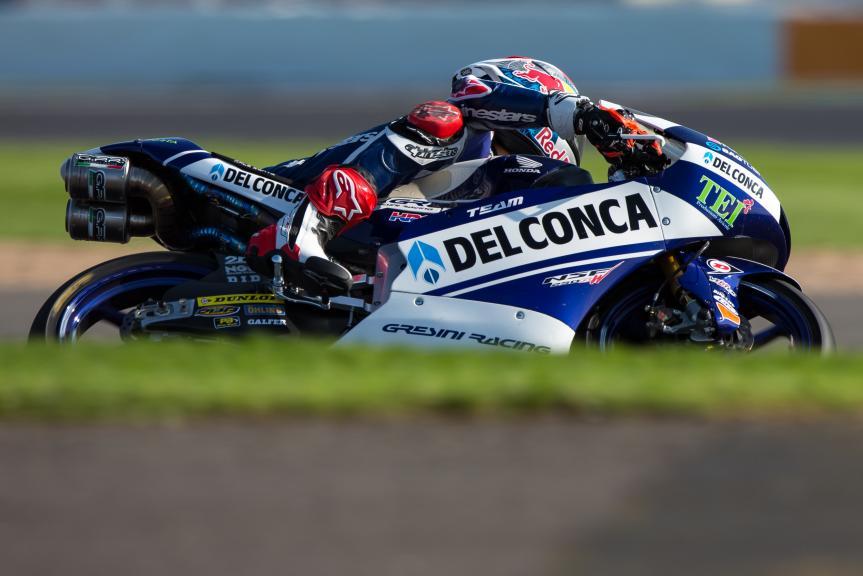 Fabio Di Giannantonio, Del Conca Gresini Moto3, Octo British Grand Prix