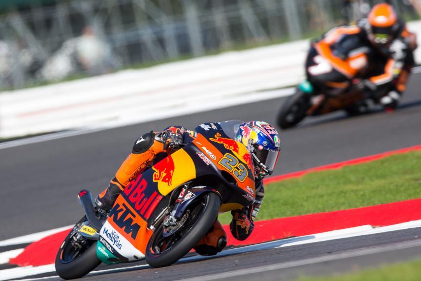 Niccolo Antonelli, Red Bull KTM Ajo, Octo British Grand Prix