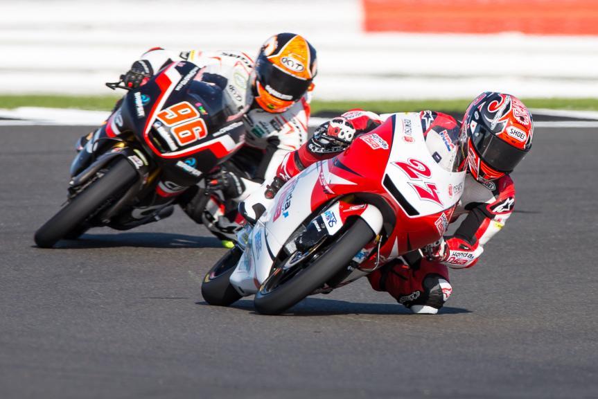 Kaito Toba, Honda Team Asia, Manuel Pagliani, CIP, Octo British Grand Prix