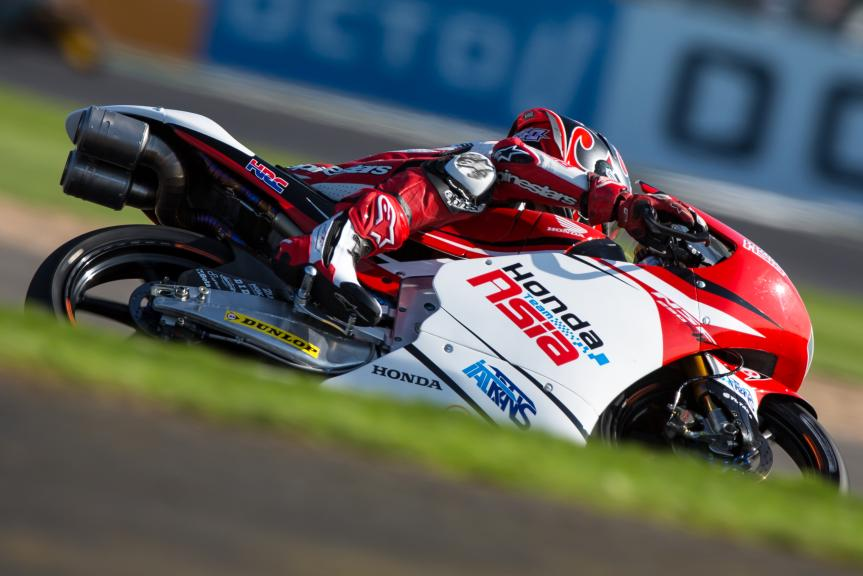 Kaito Toba, Honda Team Asia, Octo British Grand Prix