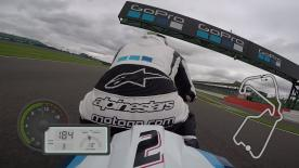 Jump on-board for a lap of Silverstone, filmed exclusively using GoPro cameras.