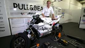 The tools, time and pressure of the dry-wet bike change