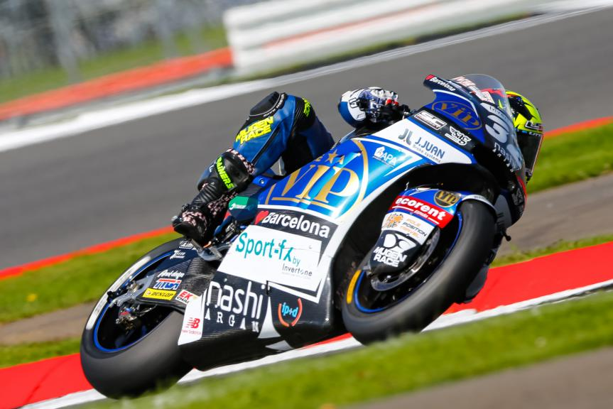 Isaac Vinales, SAG Team, Octo British Grand Prix