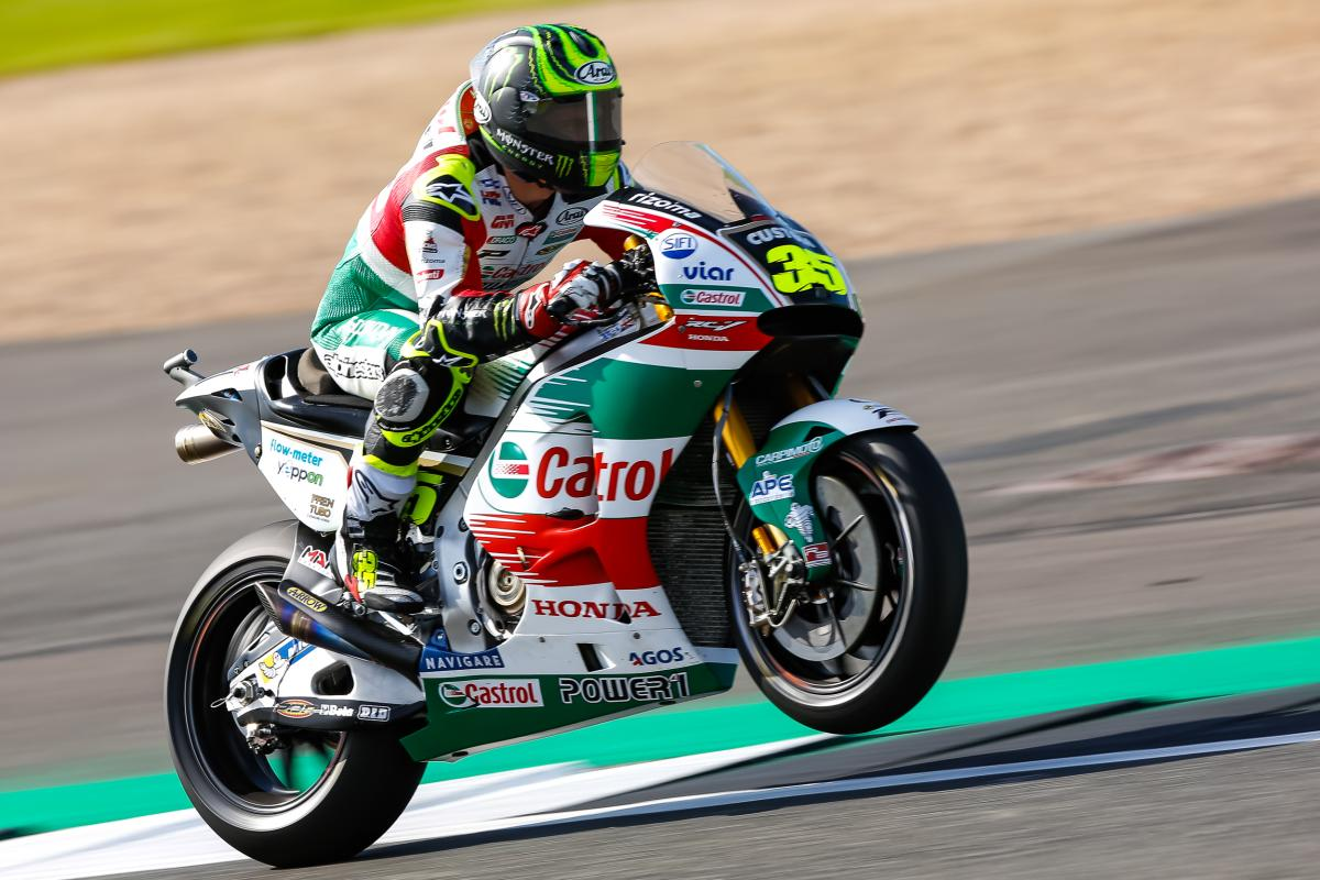 "Crutchlow: ""I pushed a little but not 100%..."" | MotoGP™"