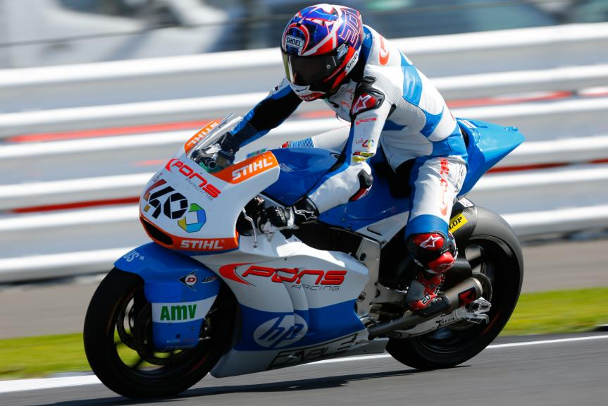 Fabio Quartararo, Pons HP40, Octo British Grand Prix