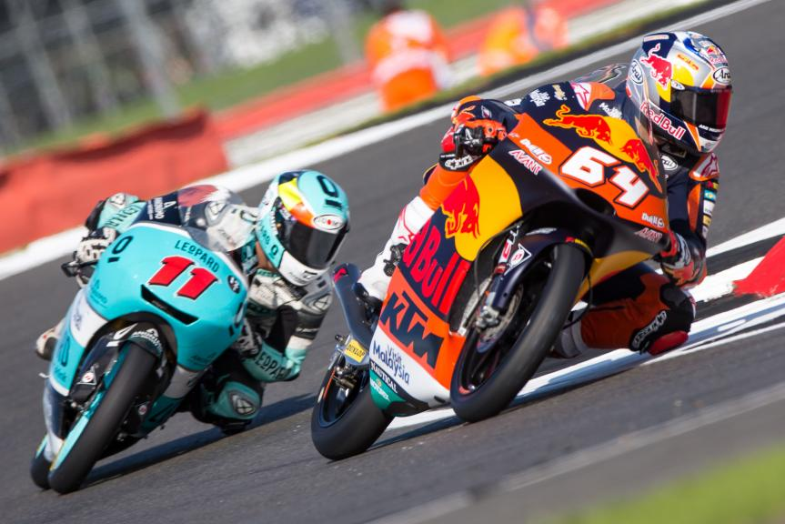 Bo Bendsneyder, Red Bull KTM Ajo, Livio Loi, Leopard Racing, Octo British Grand Prix
