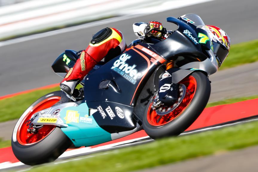 Dominique Aegerter, Kiefer Racing, Octo British Grand Prix