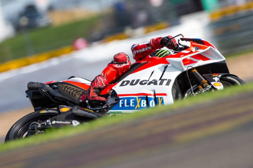 Jorge Lorenzo, Ducati Team, Octo British Grand Prix