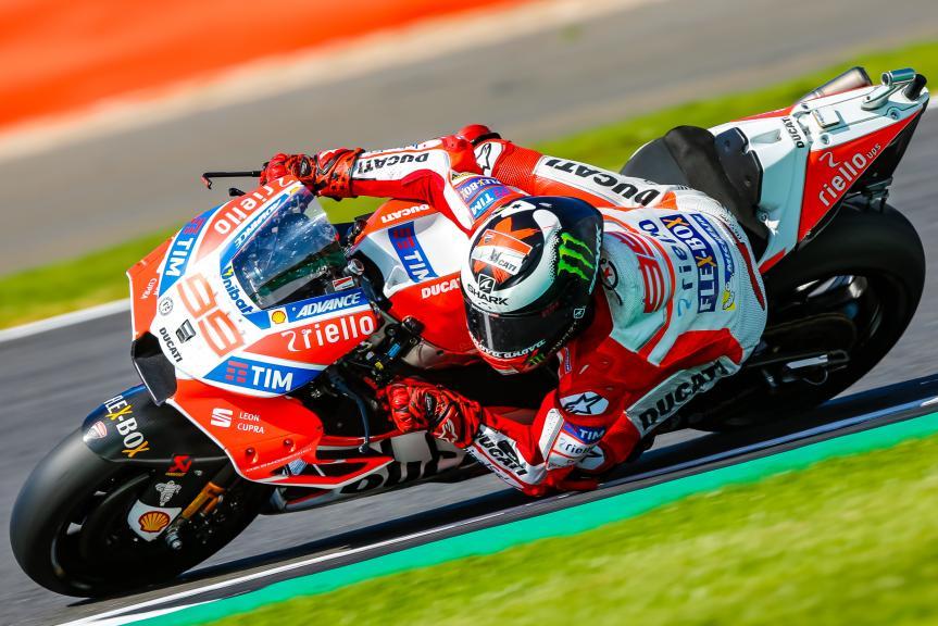 Jorge Lorenzo, Ducati Team, Octo British Grand Prix