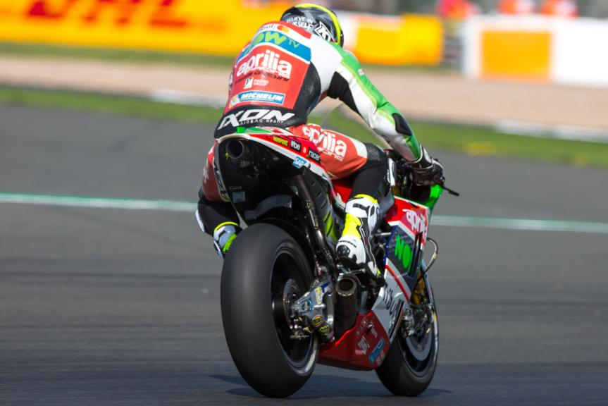 Aleix Espargaro, Aprilia Racing Team Gresini, Octo British Grand Prix