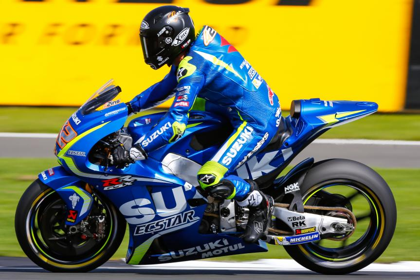 Alex Rins, Team Suzuki Ecstar, Octo British Grand Prix