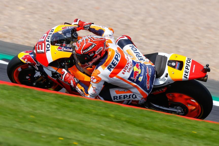 Marc Marquez, Repsol Honda Team, Octo British Grand Prix