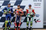 Marc Marquez, Valentino Rossi, Cal Crutchlow, Octo British Grand Prix
