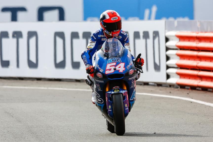 Mattia Pasini, Italtrans Racing Team, Octo British Grand Prix
