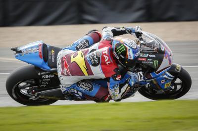 A. Márquez se maintient en tête à Silverstone