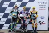 Romano Fenati, Joan Mir, Gabriel Rodrigo, Octo British Grand Prix