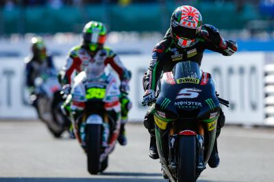 """Zarco: """"The last two laps were tricky"""""""