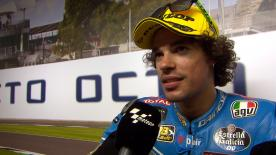 The Estrella Galicia 0,0 Marc VDS rider says that he struggled a lot in the last part of the race