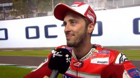 Fourth victory of the season for Andrea Dovizioso, the World Championship leader once again