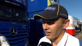Nicolas Goubert, direttore tecnico Michelin, dà il suo punto di vista sul comportamento delle gomme nella gara britannica