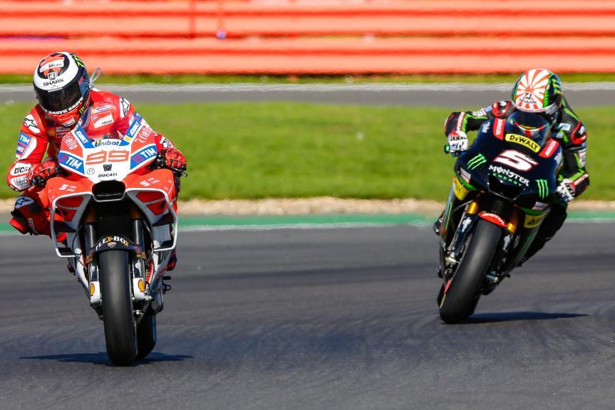 Jorge Lorenzo, Johann Zarco, Octo British Grand Prix