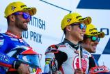 Takaaki Nakagami, Mattia Pasini, Franco Morbidelli, Octo British Grand Prix