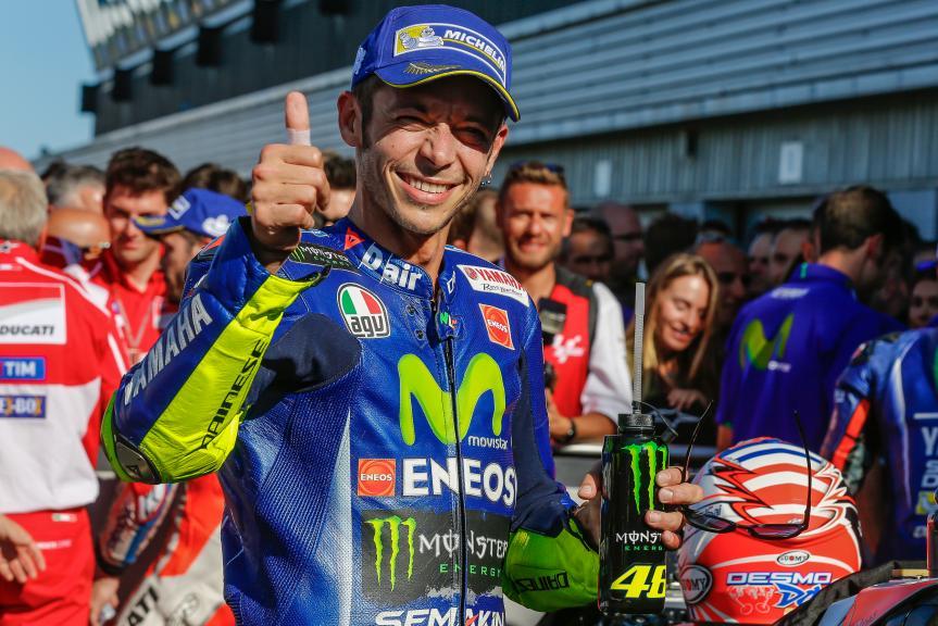 Valentino Rossi, Movistar Yamaha MotoGP, Octo British Grand Prix