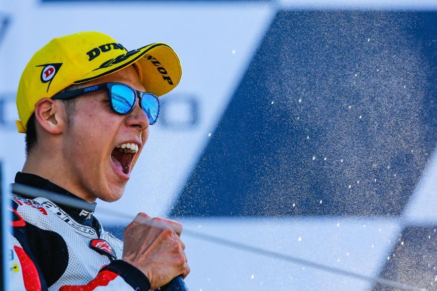 Takaaki Nakagami, Idemitsu Honda Team Asia, Octo British Grand Prix