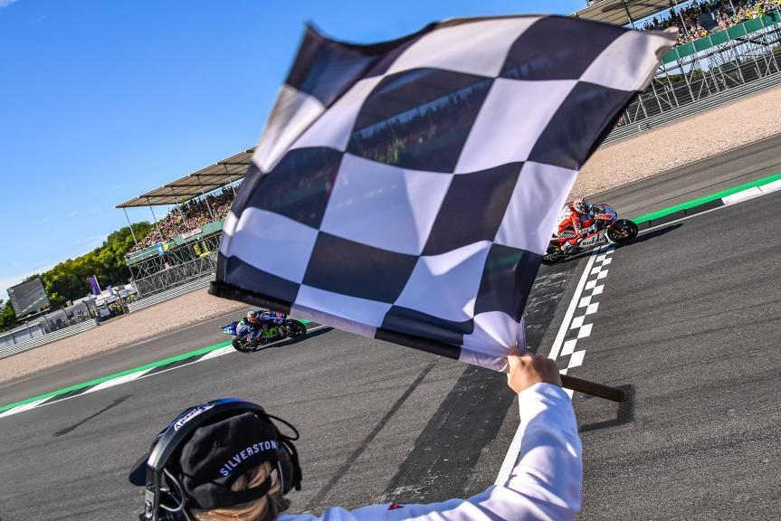 Andrea Dovizioso, Maverick Viñales, Octo British Grand Prix
