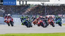 All the action from the full race session of the MotoGP? World Championship at the #BritishGP.