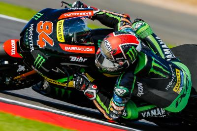 Folger: rider ok but unable to start at Silverstone