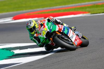 "Aleix Espargaro: ""I saw an alarm on the dashboard"""