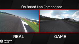 Watch to see real-time premier class racing and MotoGP™17 gameplay compared. This time, Sam Lowes rides with Team Aprilia at the Silverstone Circuit, Great Britain.