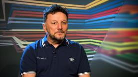 One of the most popular figures in the MotoGP™ paddock, Fausto Gresini, celebrates 20 years as a Team Manager