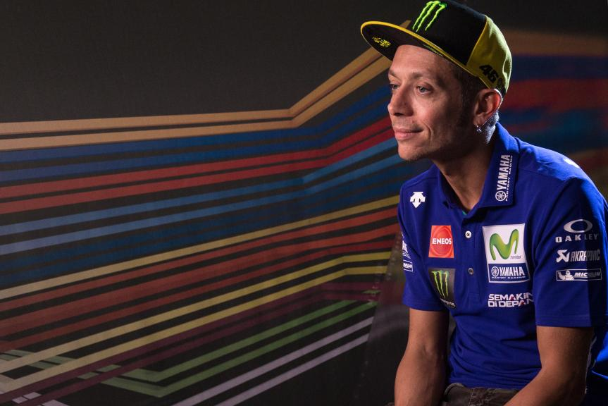 Interview of Valentino Rossi