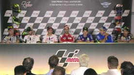 Everything you need to know from the official opening press conference at the #SanMarinoGP.