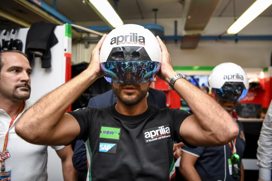 Aprilia Racing Augmented Reality in MotoGP