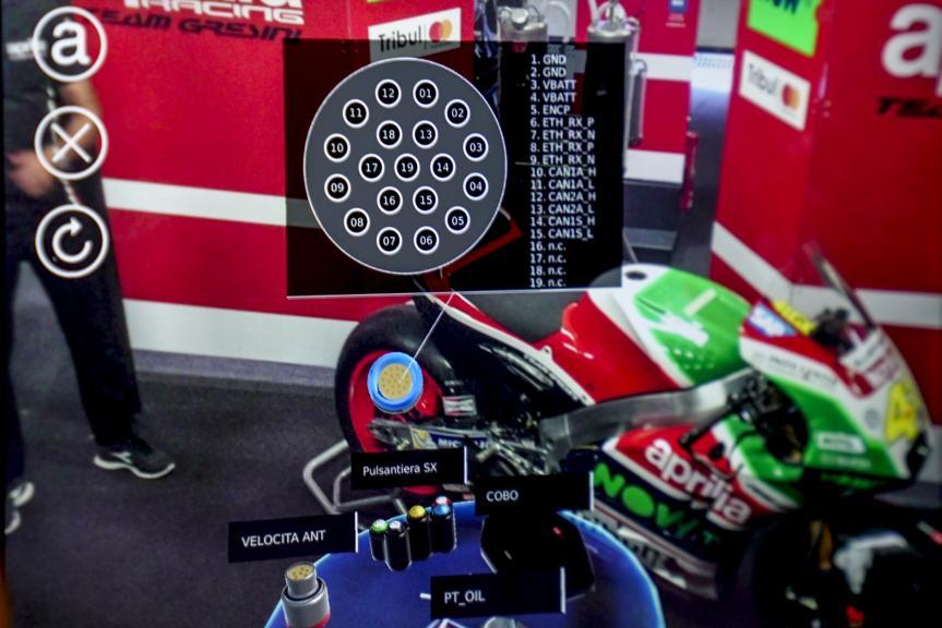 Aprilia Racing Augmented Reality in MotoGP