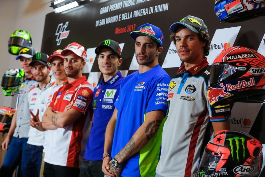 Press-Conference, Gran Premio Tribul Mastercard di San Marino e della Riviera di Rimini