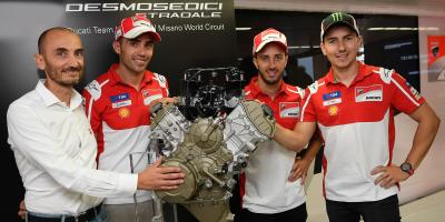 Ducati présente son Desmosedici Stradale à Misano