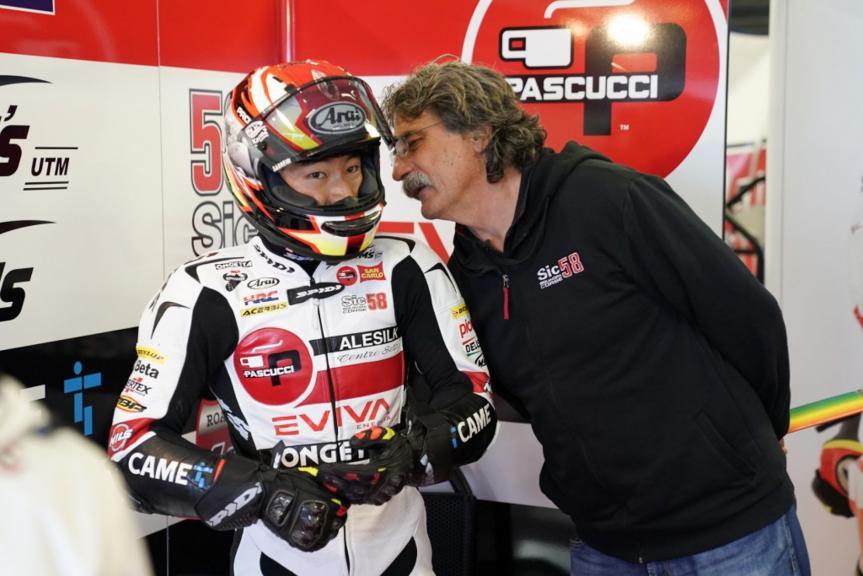 Tatsuki Suzuki and Paolo Simoncelli, SIC58 Squadra Corse